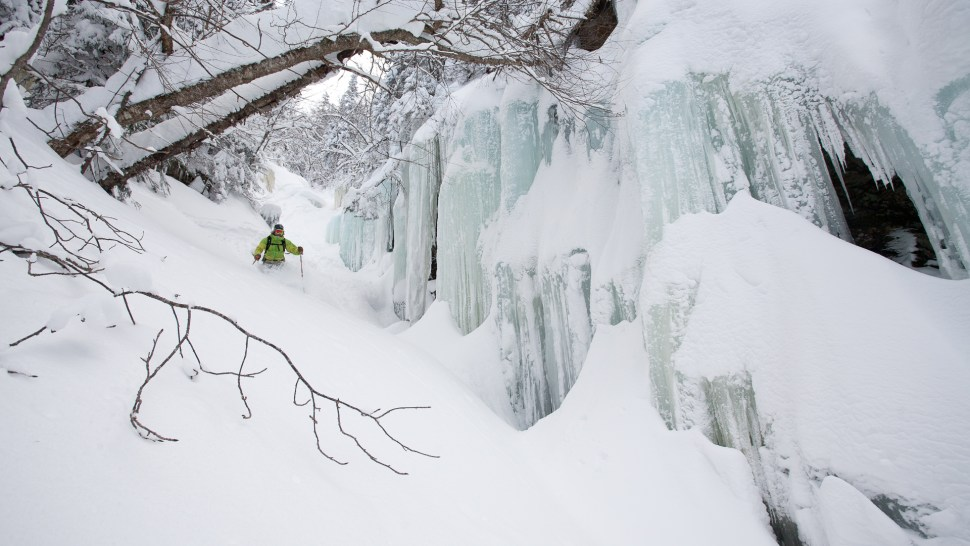Mount Mansfield/Stowe backcountry – Green Mountains, VT – Skier: Ian Forgays