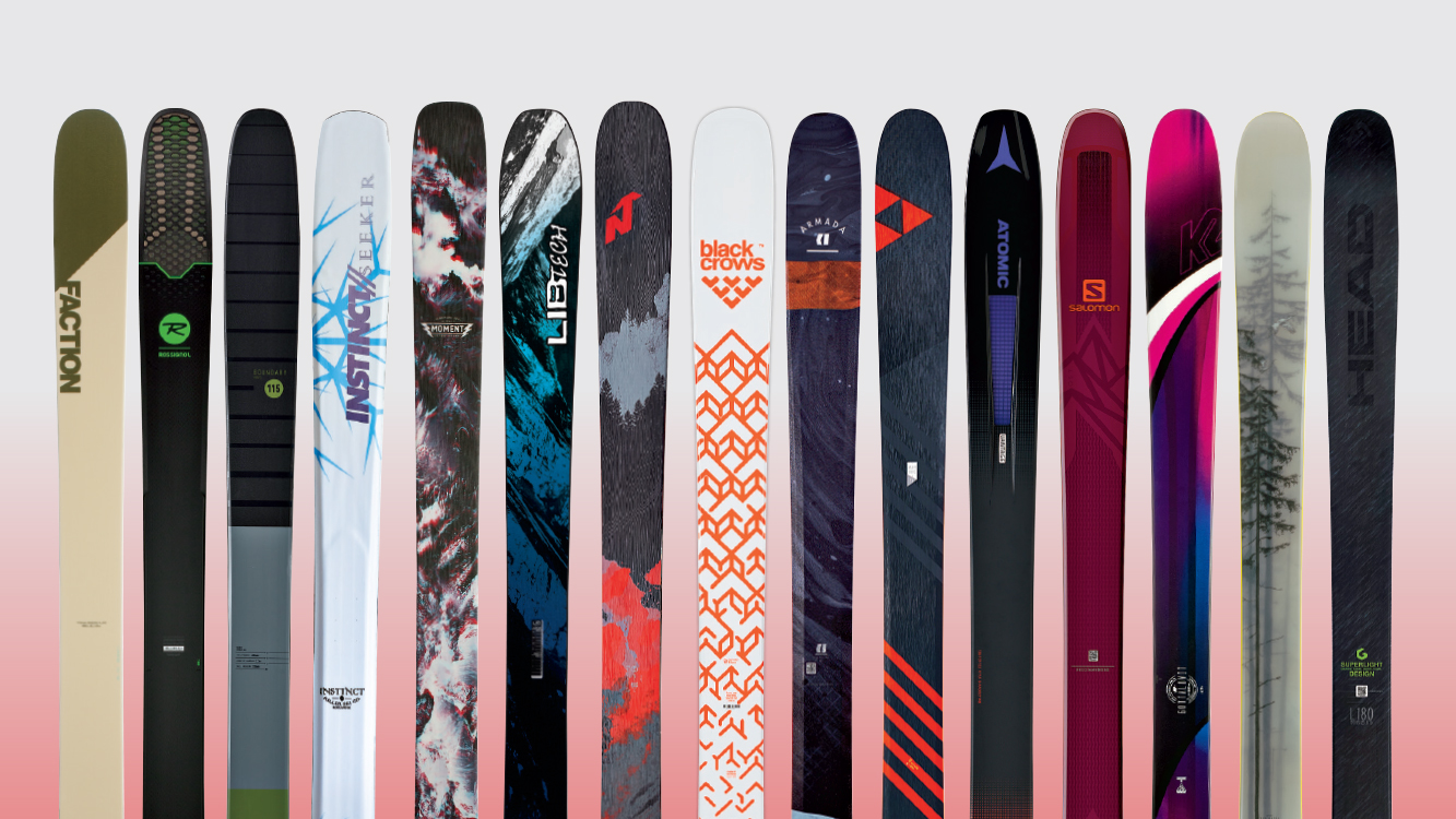 The top 20 big mountain skis of 2017