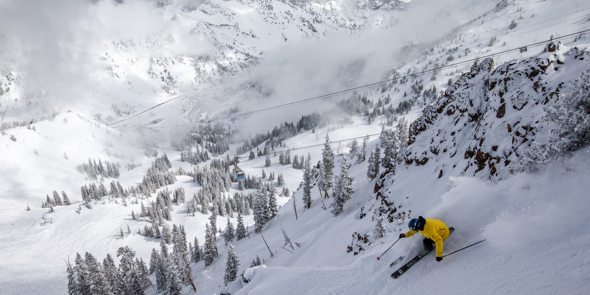 Put Up or Shut Up: Snowbird's Most Iconic Line is Right Under the Tram