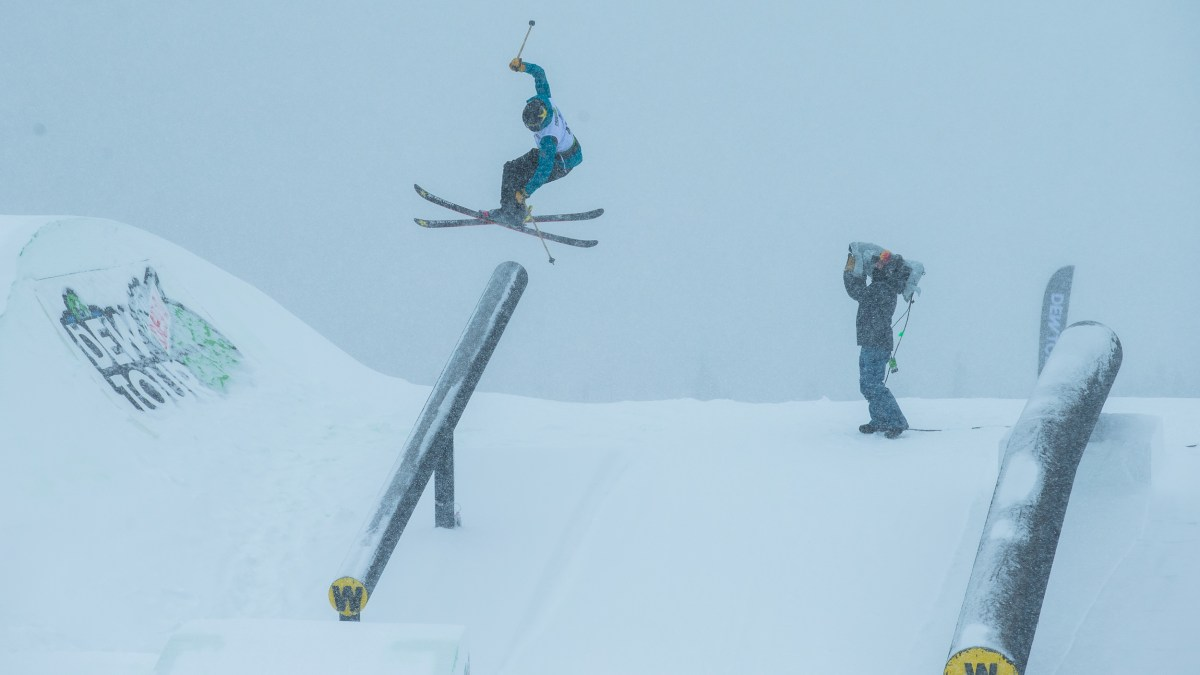 This Urban Skier is Tearing Up the Comp Circuit—And Playing It Totally Cool