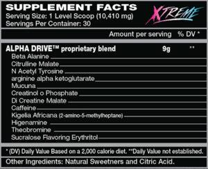 Alpha Drive Xtreme Muskelmacher-Shop Gutscheincode