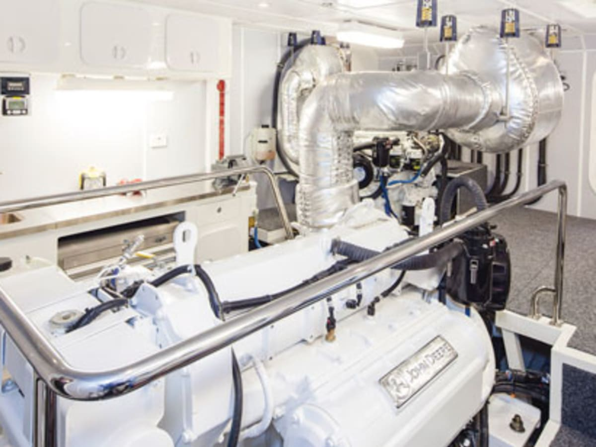 the exhaust system on your boat