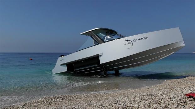 Tested Iguana Yachts Amphibious Boat Power Amp Motoryacht