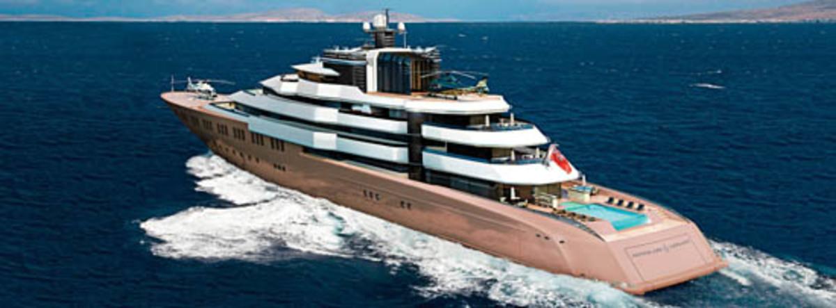 Design 120 Meter Yacht By Nuvolari Lenard For Oceanco