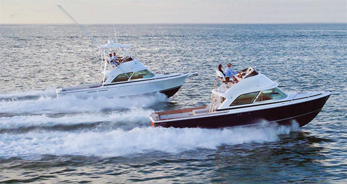 Bertram 35 Power Amp Motoryacht