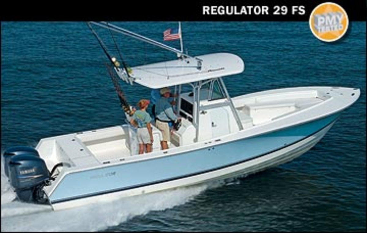 Regulator 29 FS Power Amp Motoryacht