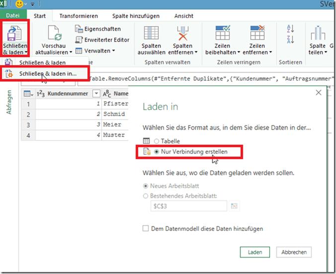 SVerweis mit Power Query - PowerBI Pro