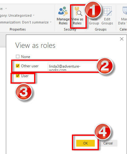 Power BI - Display Measures for specific users only - Power BI