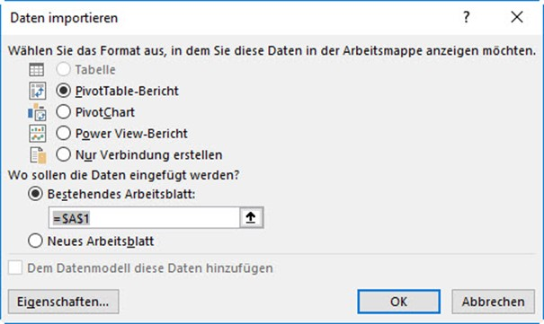 Import data from Power BI Desktop into Excel - PowerBI Pro