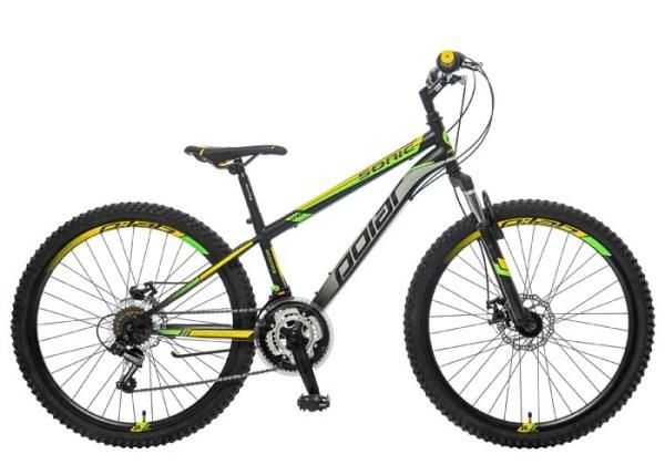BICIKL POLAR SONIC 26 FS DISC black-grey-yellow najpovoljnija cena