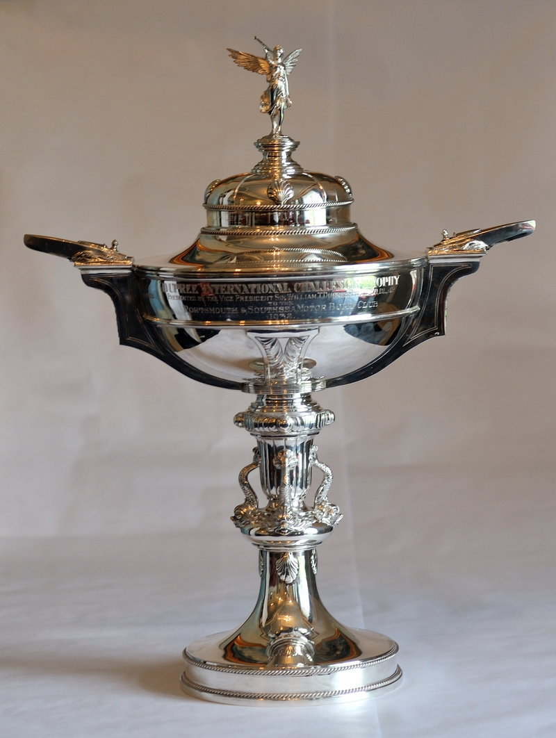 """The """"Dupree International Challenge Trophy"""" Photo: Davies-Team Britannia"""