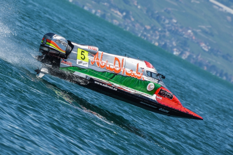 F1H2O Grand Prix of France, Evian 15th-17th July 2016, Thani Al Qamzi (5), Team Abu Dhabi