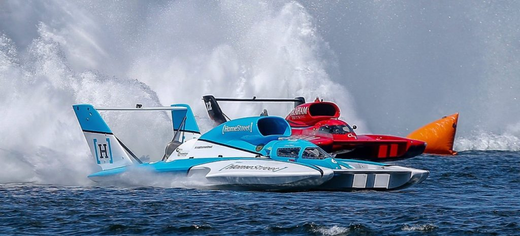 H1 Unlimited Hydroplane Decider at Mission Bay – Powerboat