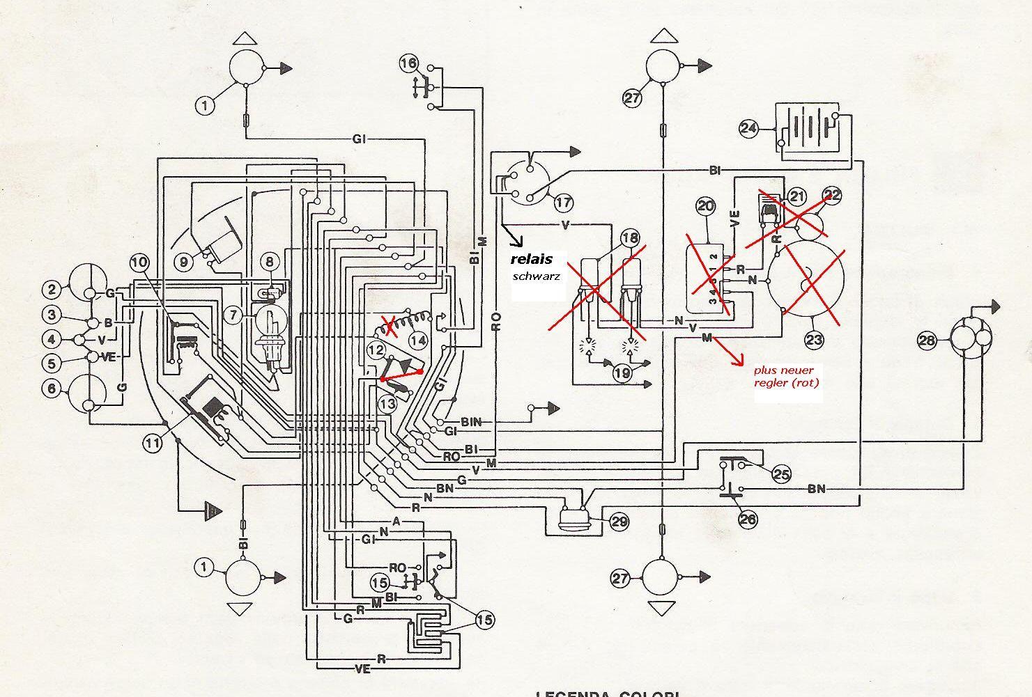 Powerdynamo Fur Motor Benelli 125 250 2c
