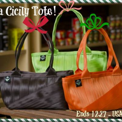 Maggie Bags Cicily Tote Giveaway ends 12/27