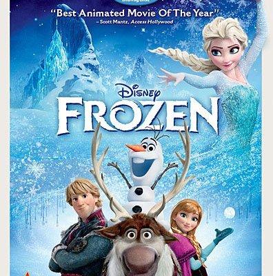 Frozen the Movie on DVD!