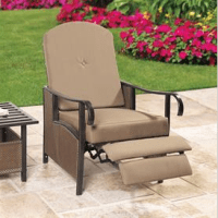 Brylane Home Outdoor Recliner