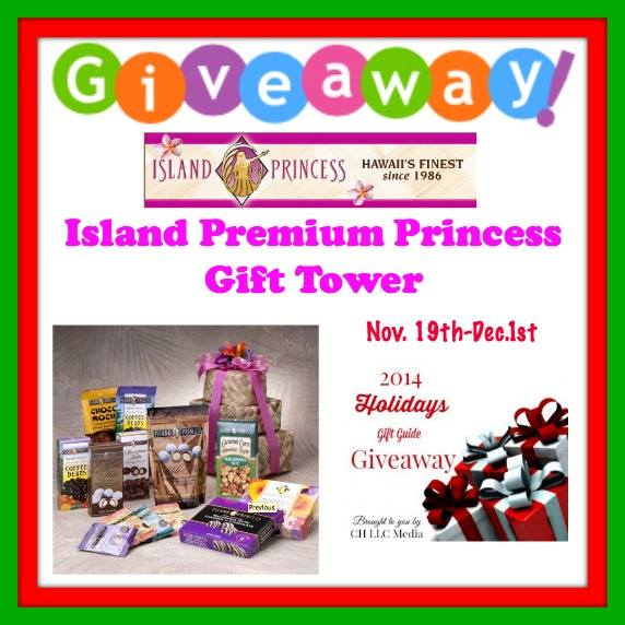 island princess premium gift tower