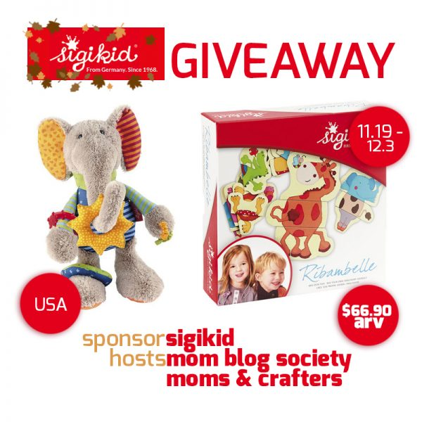 sigikid giveaway button