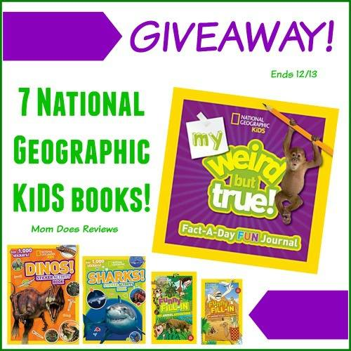 National Geographic for Kids Prize Pack Giveaway - Powered