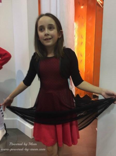 triple flip dress