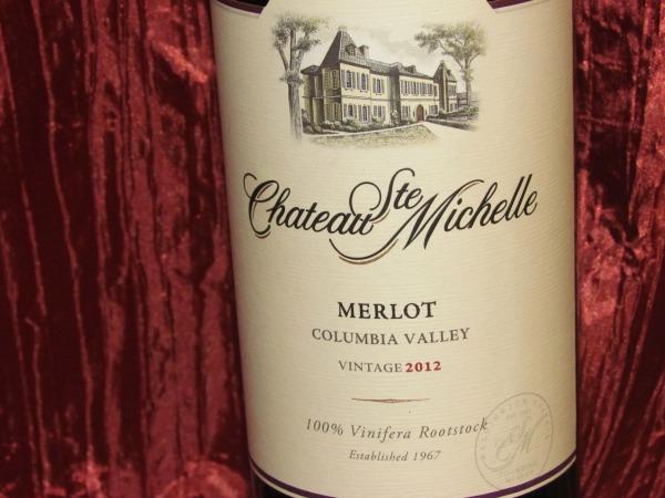Chateau Ste Michelle Merlot