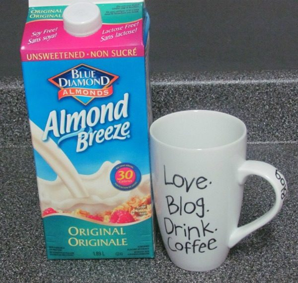 almond breeze mug