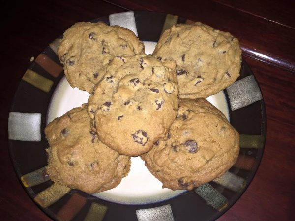 chocolate chip cookies iwth coconut sugar