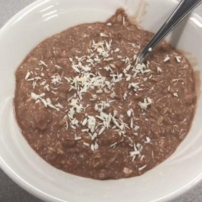 Coconut Chocolate Protein Chia Pudding Recipe