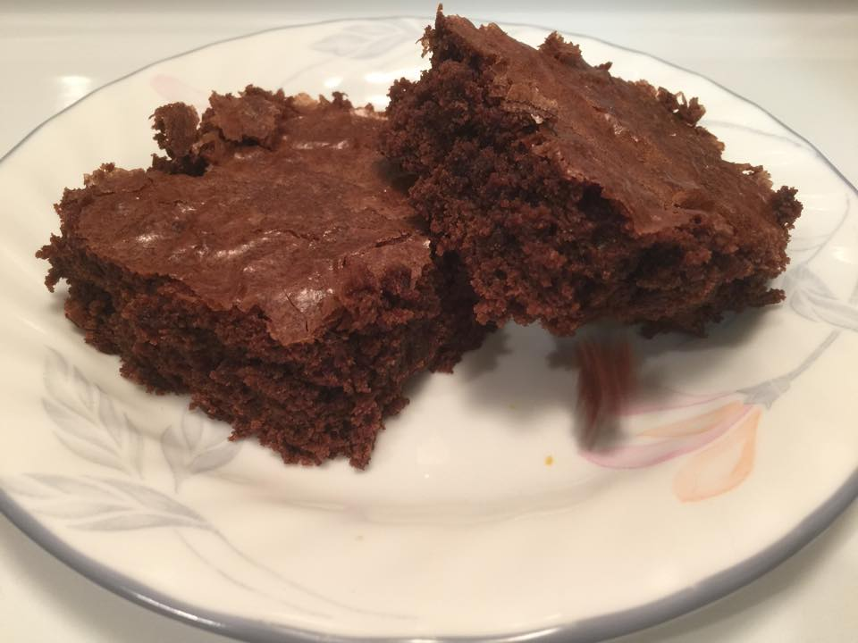 Protein Coffee Brownies