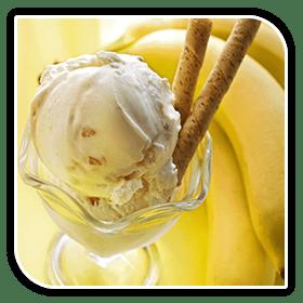 cinnamon banana ice cream