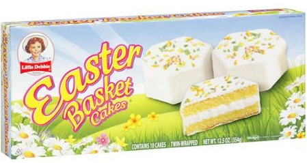 little debbie's easter basket