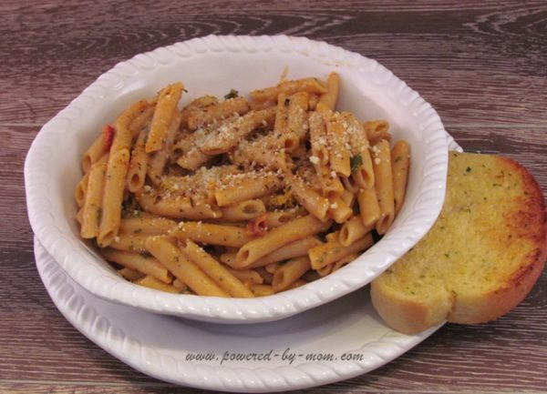 Modern Table Meals Penne with Garlic Bread