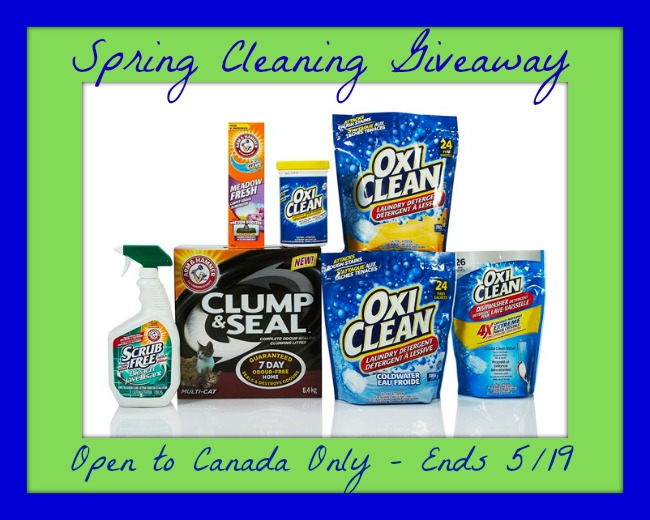 Oxiclean spring cleaning button