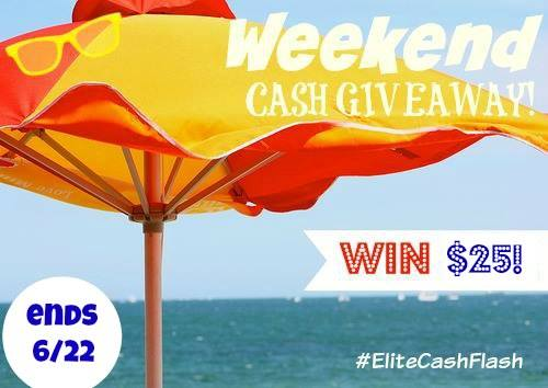 weekend flash giveaway