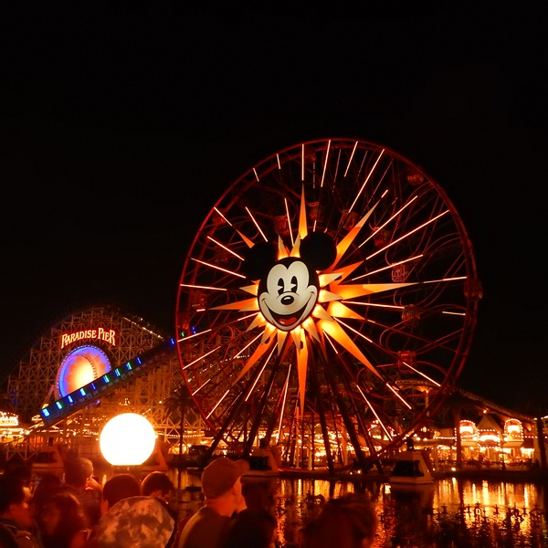 Disney ferries wheel