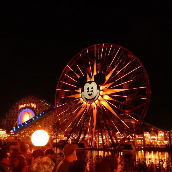 Disney ferries wheel