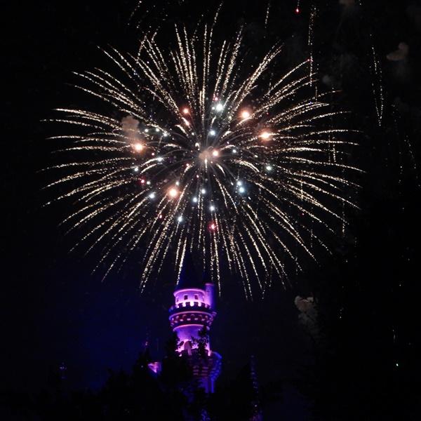 Disneyland fireworks 2
