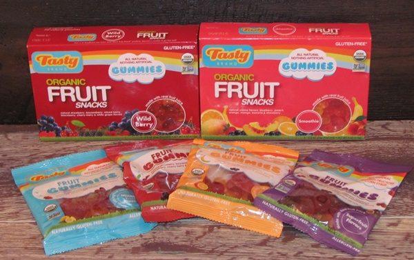Tasty snacks fruit snacks
