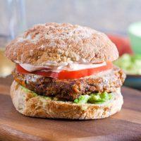 7. Taco Veggie Burgers