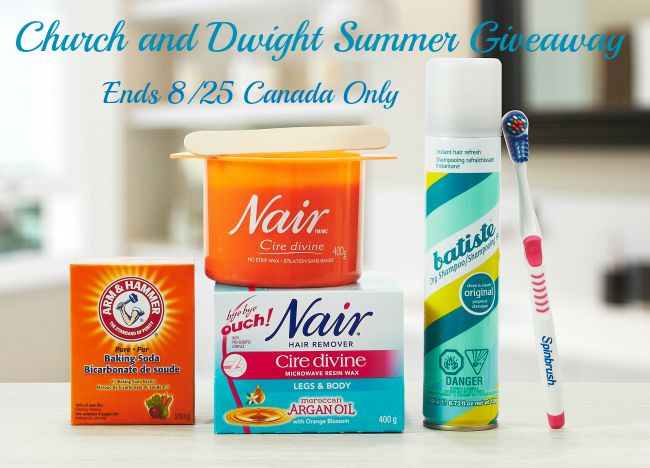 Church and Dwight Summer giveaway