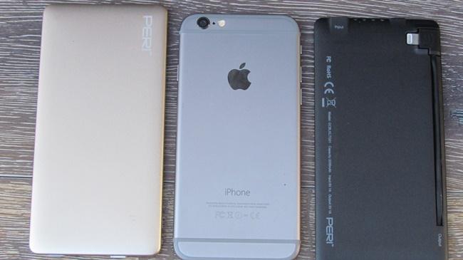 PeriGoCharge with iphone