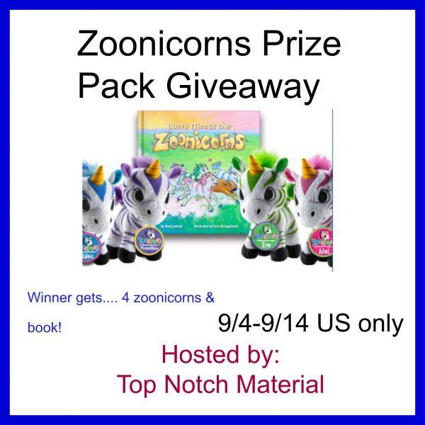 Zoonicorns giveaway