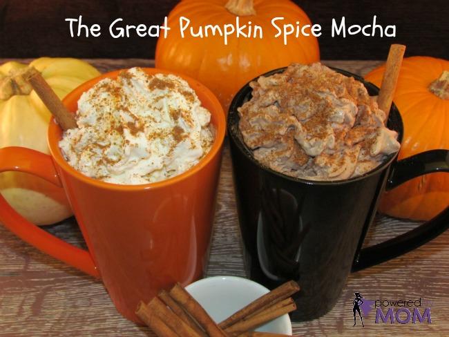 Pumpkin Spice Mocha PBM