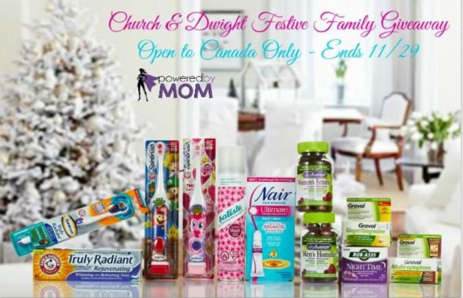 Church and Dwight holiday giveaway