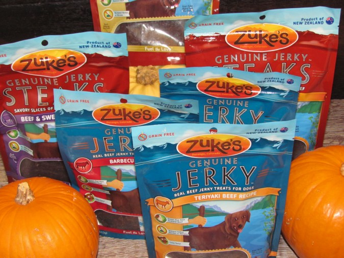 Zukes Jerky & Steak Treats