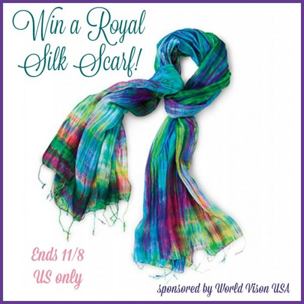 royal silk scarf giveaway