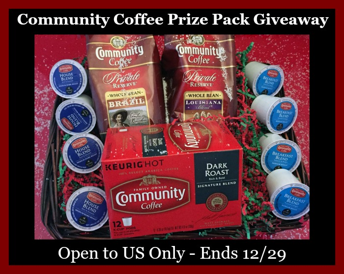 community coffee variety button