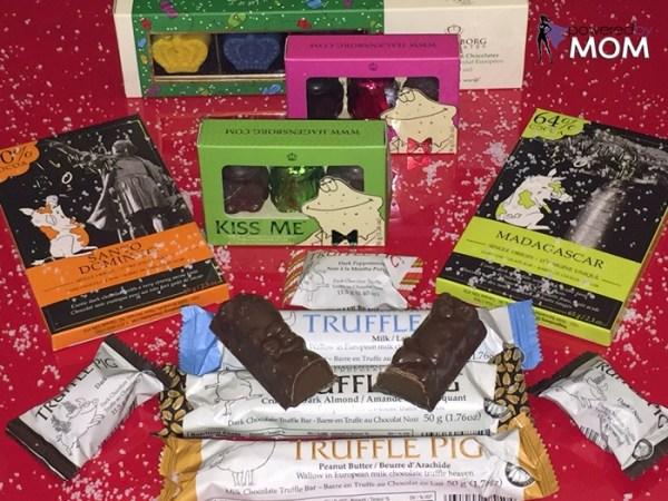 hagensborg chocolates variety