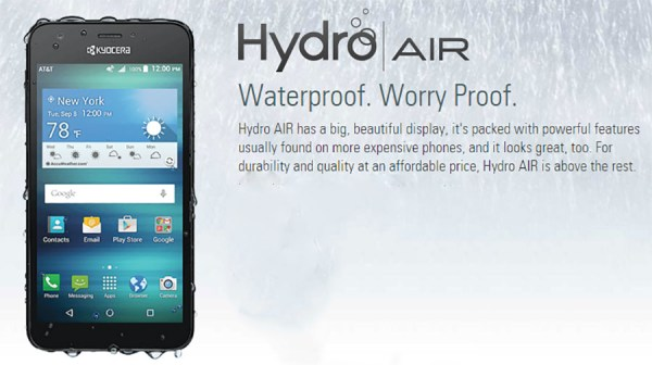 kyocera hydro-air